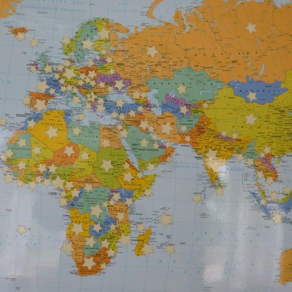 Kanaan-Zentren, Literatur in aller Welt