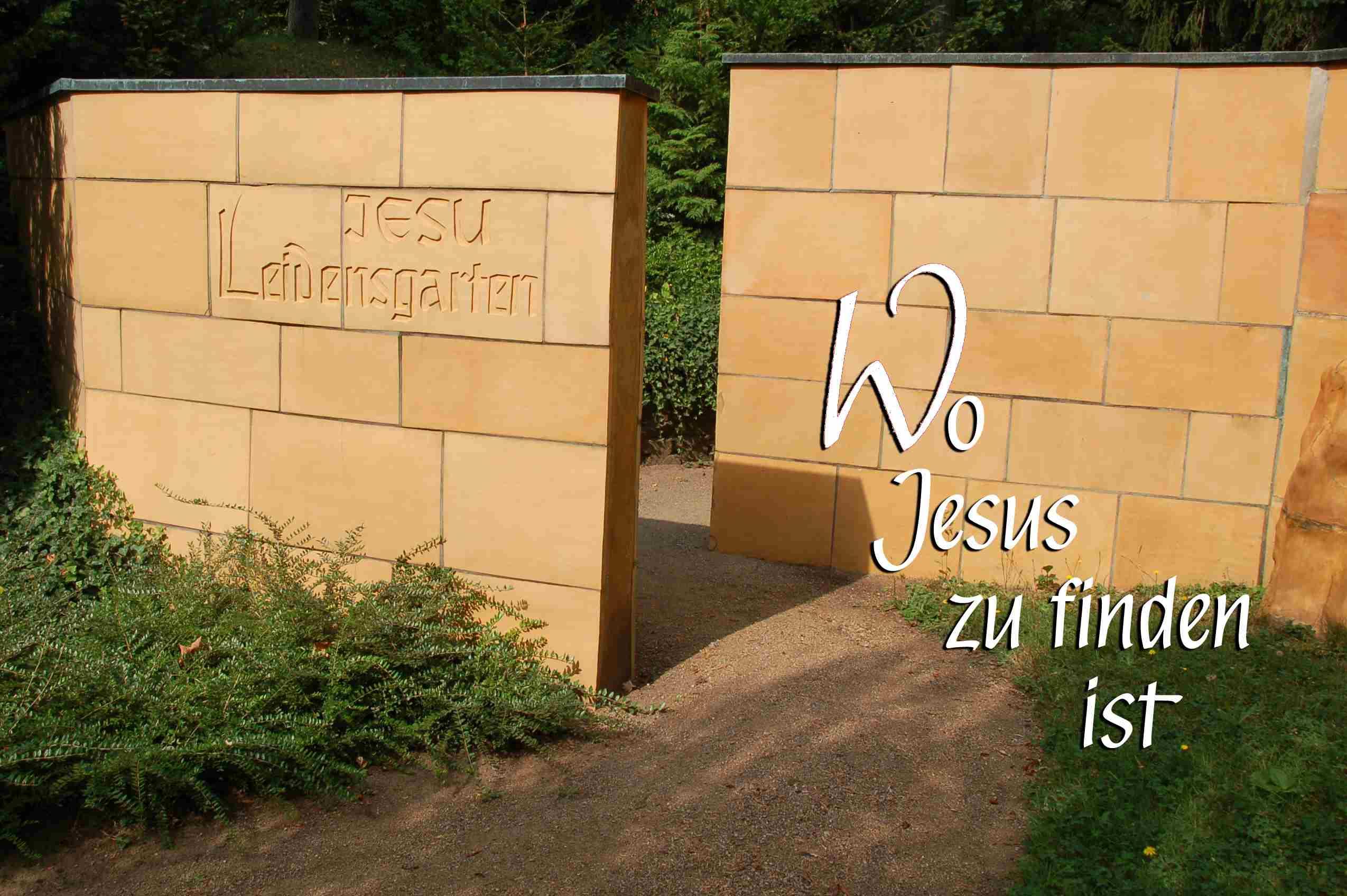 Eingang zu Jesu Leidensgarten