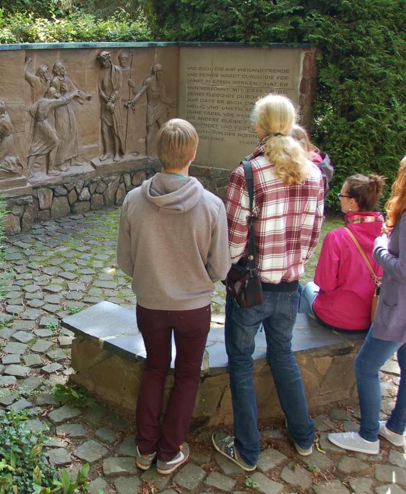 Besuch Jesu Leidensgarten